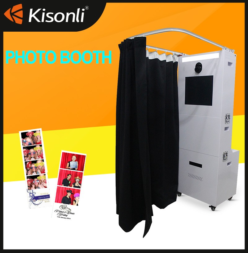 New model hot sale 19 touch screen photo booth vending machine for sale manufacturer