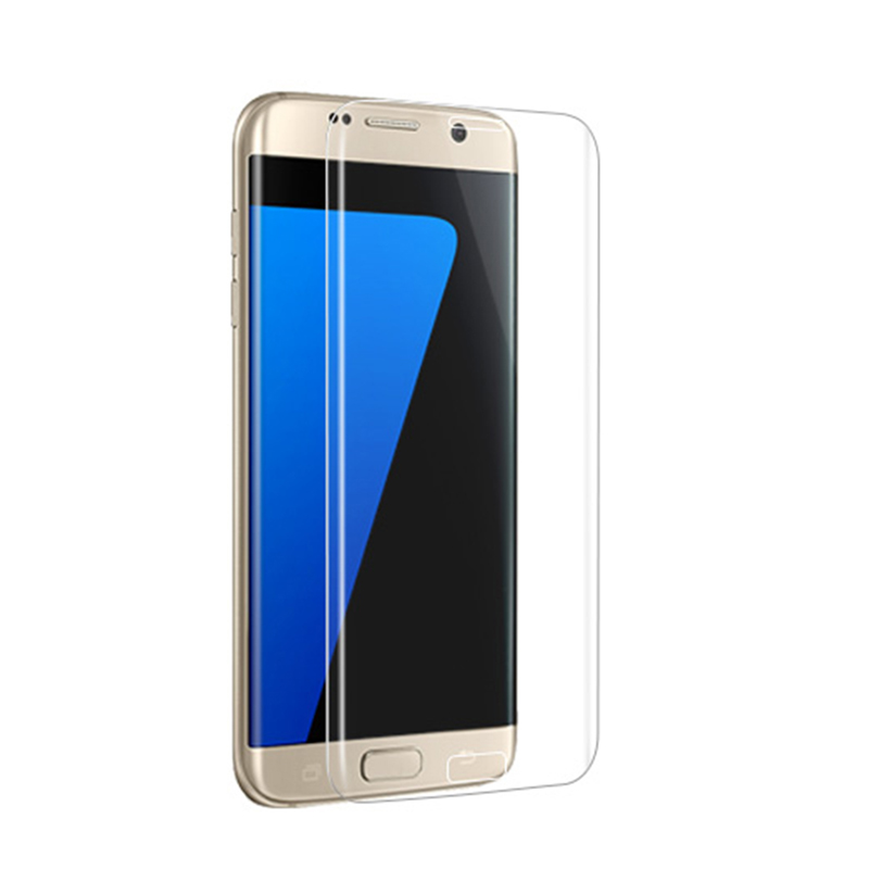 ELEKMALL 2017 newest mobile phone accessories for samsung galaxy s7 edge screen protector tempered glass wholesale