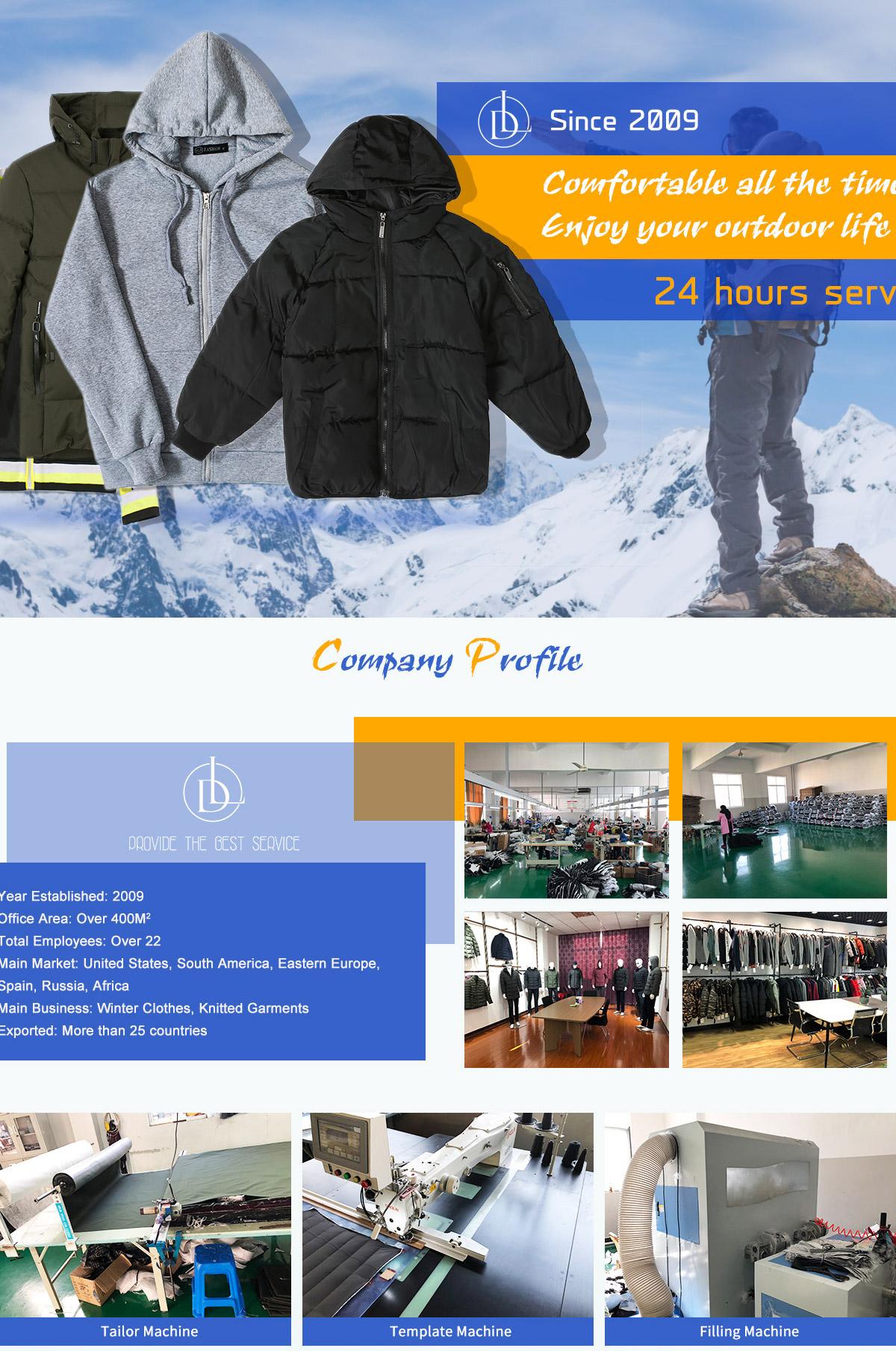 Ningbo Lidun Imports & Exports Co , Ltd  - clothes, knitted garments