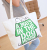 Popular fashion promotional cotton canvas tote bag