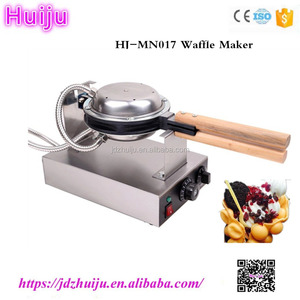 commercial automatic bubble biscuit electric egg waffle maker for home HJ-MN017