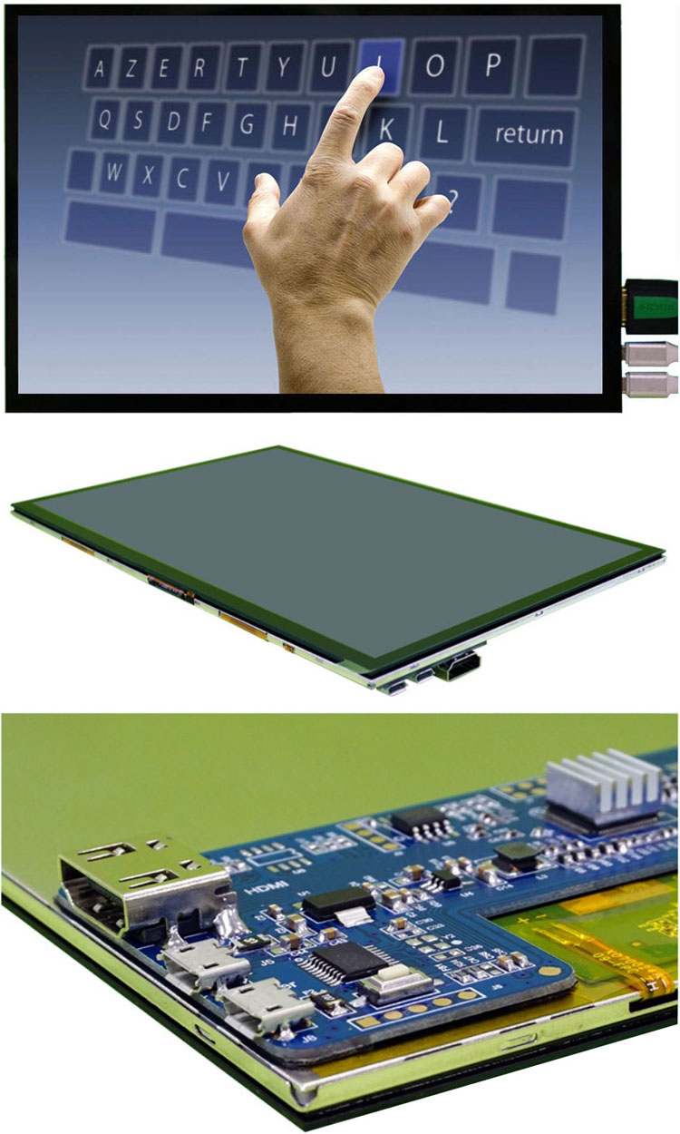 10 Inch TFT USB Powered Touch Screen Display Monitor for Raspberry PI