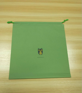 Chinese manufacturer custom printed colorful LDPE/CPE wear rope drawstring bag plastic bag