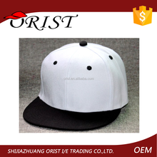 100% Cotton Embroidered 6 Panel Snapback/Custom Made Snapback Hats from ORIST