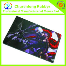 Extended Full Desk Pro Gaming Surface Mouse Mat- Black