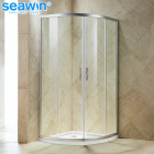 Sector frameless tempered glass 70*70 dubai bathroom shower room