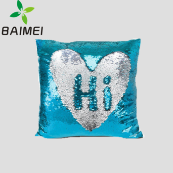 wholesale cheap yi wu mermaid reversible cushion printed pillow coverdiy sequin fabric color changing pillow buy printed pillow casediy sequin fabric - Color Changing Pillow