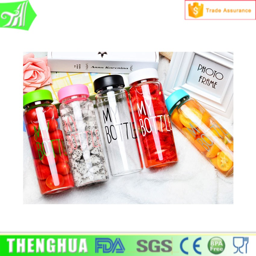 Polycarbonate Plastic Bottle shaker Export Korea Fashion Water Bottle