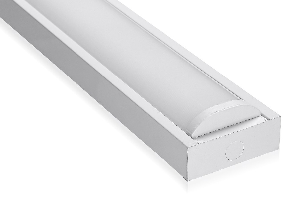 Led Flush Mount Wraparound Trunking System Linear Ceiling Lighting ...