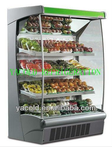 supermarkt gemüse kühlschrank Kühlungequipment Produkt ID