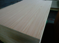 red oak veneer faced mdf board