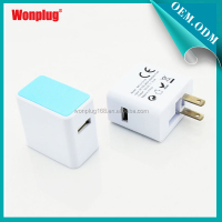 2014 Multiple Wall Travel US Charger Plug with Single USB port For iphone