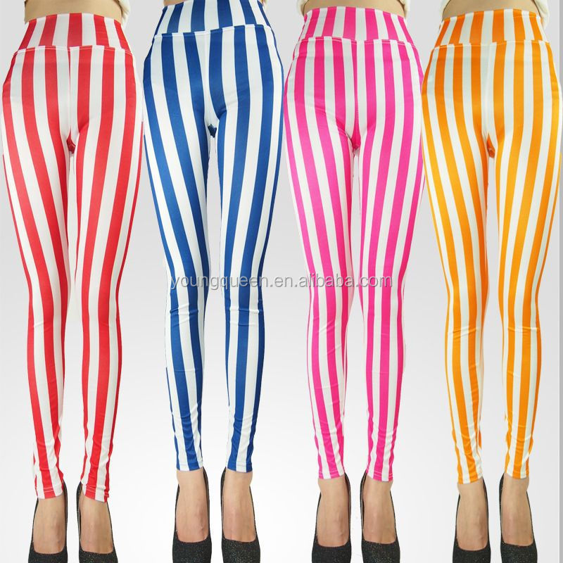 For Sale: Candy Striped Leggings, Candy Striped Leggings Wholesale ...
