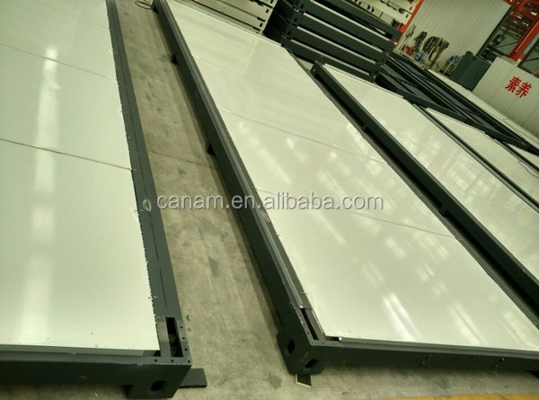 Hot!!!Advanced eps sandwich panel as wall for modern style houses/modular prefab (Professional)