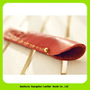 17-012 China supplier wholesale luxury leather pencil / pen pouch
