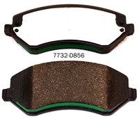 Semi-metallic 05019984A1 brake pad for CHRYSLER VOYAGER PT CRUISER COMPASS JEEP CHEROKEE LIBERTY DODGE CARAVAN brake pad manufac