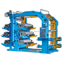 Six Colour Plastic Bag Flexo Printing Machine