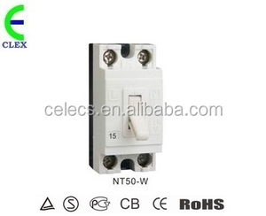 NT50 safetycircuit breaker 220VAC rated current 32a 2poles short-circuit breakeing capacity 1500A safety breaker