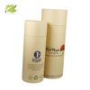 wholesale custom white paper cylinder tube packaging with lid