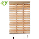 Stardeco manual blackout shade bamboo venetian blinds