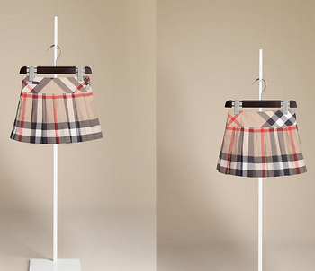 1308a42809 Baby Girls Pleated Check Kilt In Soft Cotton Skirt (4-14years) - Buy ...
