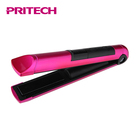PRITECH USB Charging Cable Lockable Handle Electric Hair Straightening Iron