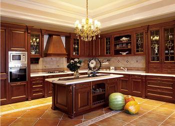 modern solid wood kitchen cabinet european style - Solid Wood Kitchen Cabinets