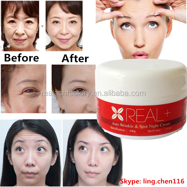 100% Effective Real Plus Face Whitening Cream/anti-wrinkle/anti ...
