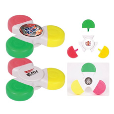 Office stationery superior quality cheap price advertising OEM logo durable plastic double header round cap mini highlighter