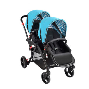 Hot Selling Double Pram Pushchair Twin Baby Stroller Buggy For Sale