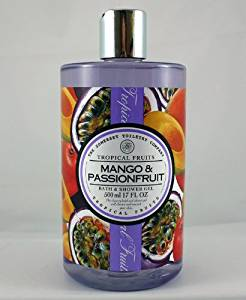A&S Tropical Fruits Mango & Passion Bath and Shower Gel 500ml bottle