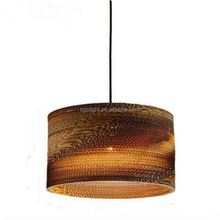 New Chinese paper chandelier Japanese art Zen lighting, creative restaurant lighting tea room Paper skin square pendent lamp