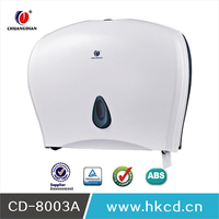 Latest ABS Jumbo Roll Factory Hanging Manual Hand Tissue Commercial Paper Towel Dispenser For Toilet Hosptial Hotel SPA CD-8003A