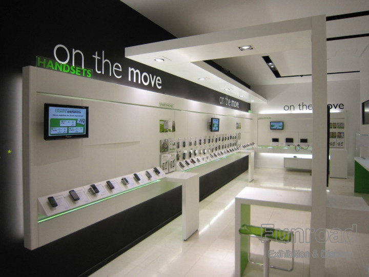 Custom Manufacture China Factory Mobile Phone Retail Store