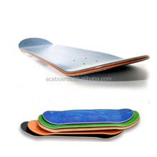 "Custom skateboard shoes 31x7.75"" Stained Color Canadian Maple Skateboard deck"