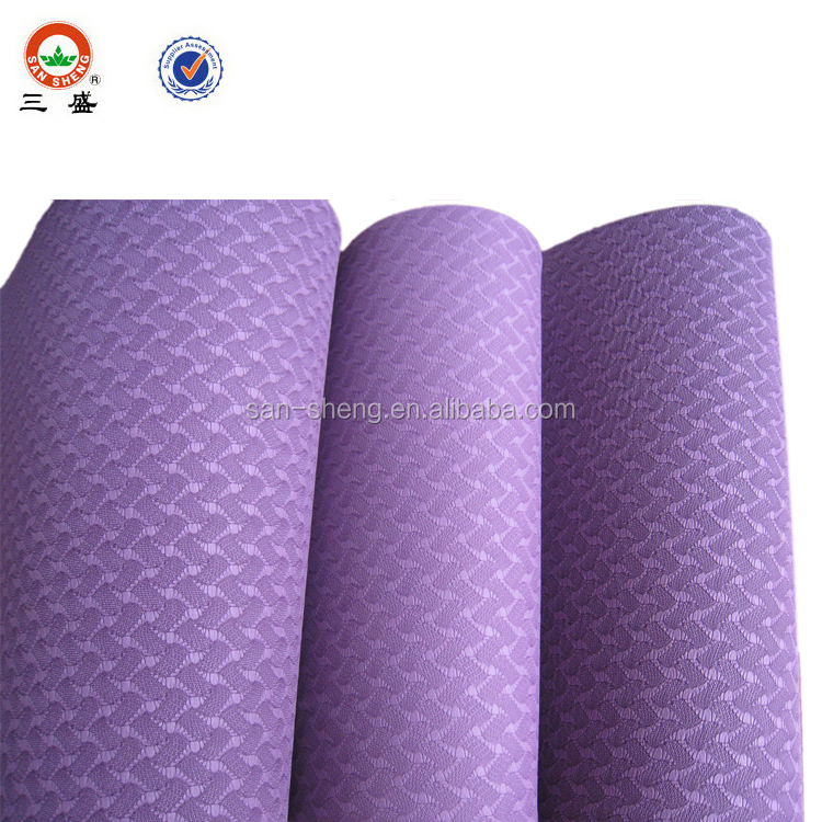 Customized Logo Print Tpe Yoga Mat