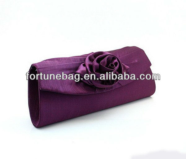 Hot sale evening bags and flower clutch
