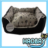 Paw Prints Short Fur Lounger Pet Bed Dog House