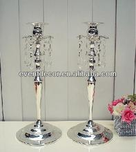 Wedding candle holder , Silver single candle holder for hotel&restaurant suppliers 4213