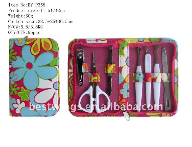 7PCS Fashion&Mini Manicure Set Nail Care Tools and Equipment