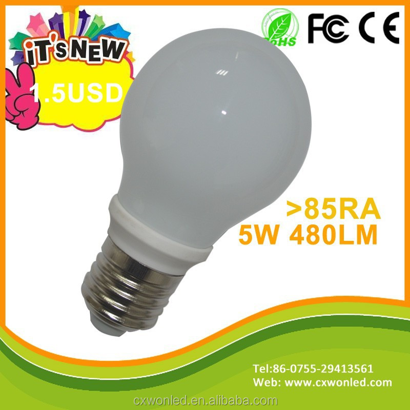 Commercial and Residential high cri 80 led LED bulb lamp lights with 3 years warranty