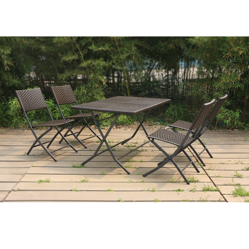 Enjoyable Folding Table And Chair Bistro Set Outdoor Furniture Rattan Garden Set French Bistro Chairs Rattan Set Patio Furniture Cane Buy Garden Set French Best Image Libraries Weasiibadanjobscom