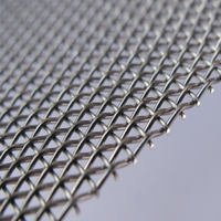 SUS304 316 plain weave stainless steel wire mesh for filter