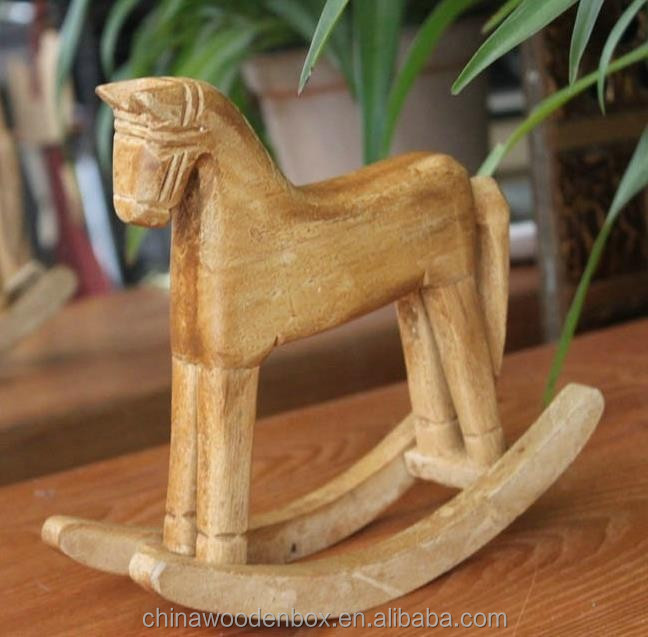 2015 popular hot sell colorful wooden Rocking horse