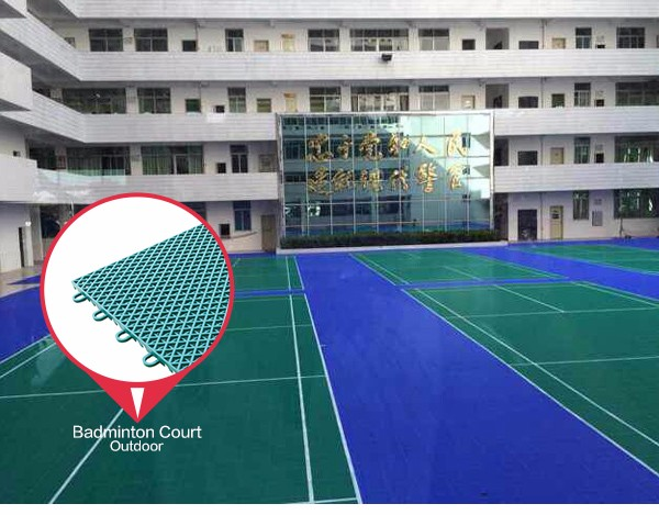 100 new pp synthetic good costs interlocking outdoor for Sport court costs