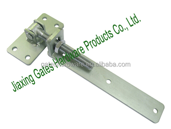 Galvanized swing gate hinge for heavy duty wooden driveway for Driveway gate hardware heavy duty