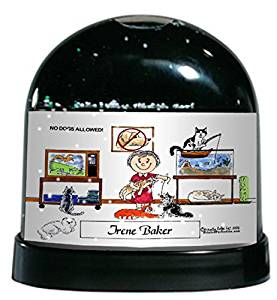 Buy Personalized Friendly Folks Cartoon Snow Globe Frame Gift Auto Body Male Great For Auto Body Repair Body Shop Auto Restoration In Cheap Price On M Alibaba Com