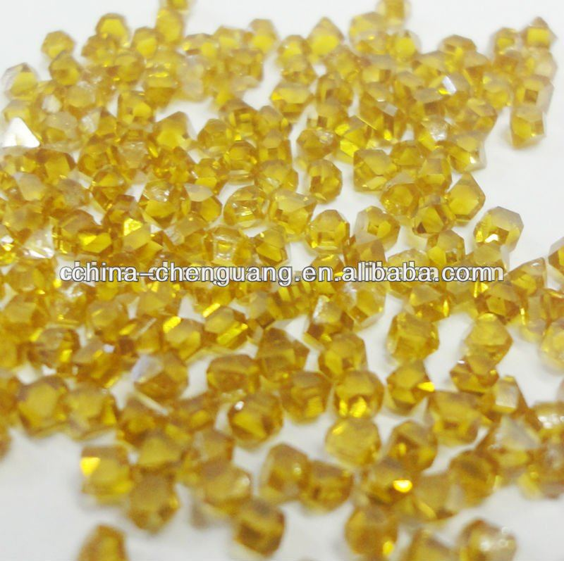 fancy yellow synthetic diamond/high quality synthetic diamond