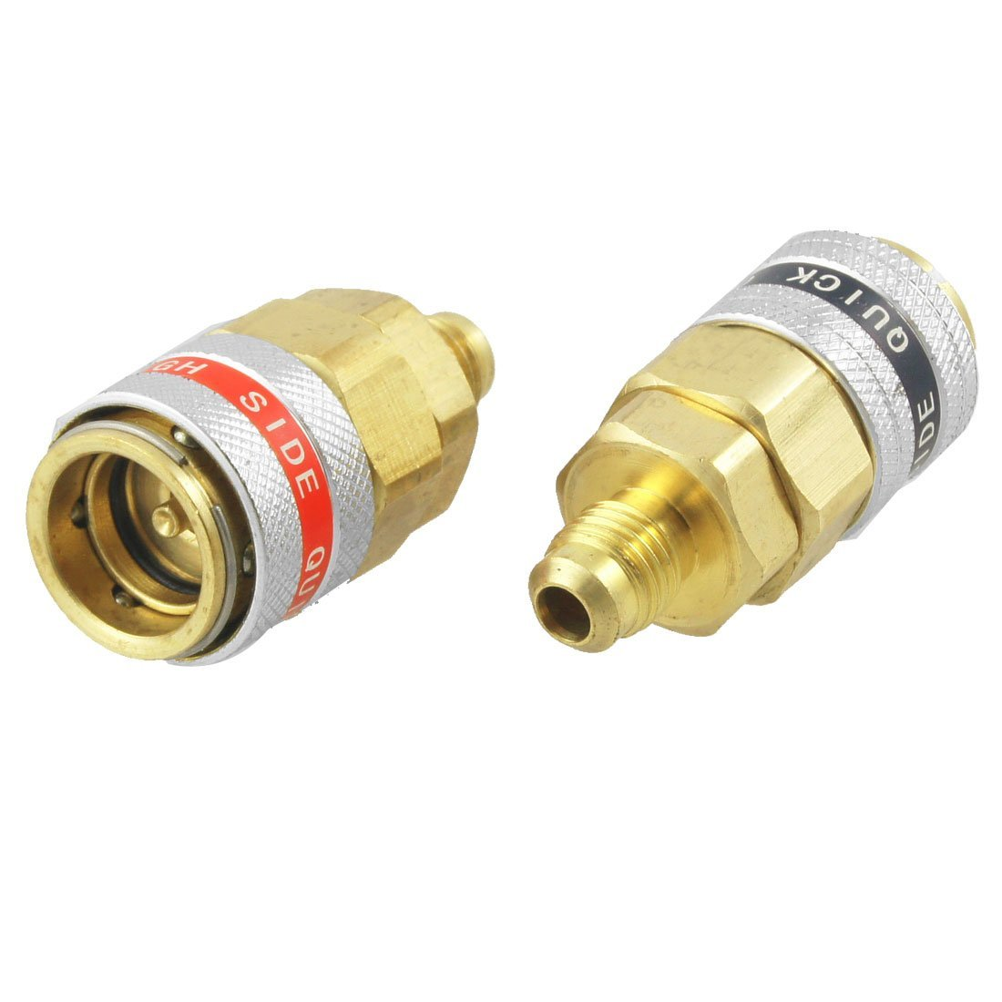 ZYHW Car A//C R134a Quick Coupler Adapter Automotive High Low Side Tool