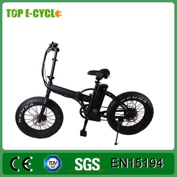 20 inch folding electric bike 48V 500W folding e-bike electric fat bike